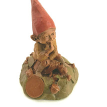 Tom Clark Eddie The Gnome Riding A Turtle - $31.68