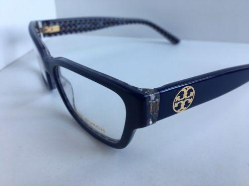 7542dd392218 New TORY BURCH TY 2074 1655 Blue 51mm Cats Eye Rx Women s Eyeglasses  1
