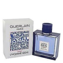 L'homme Ideal Sport Cologne By  GUERLAIN  FOR MEN  3.3 oz Eau De Toilett... - $70.50