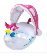 My Unicorn Baby Boat with Sun Shade in White/Pink - $7.99