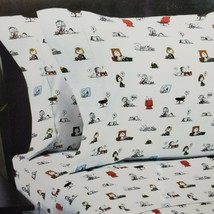 Berkshire Peanuts 4 Piece Snoopy and Friends Nap Time Theme Full Sheet Set - $42.70