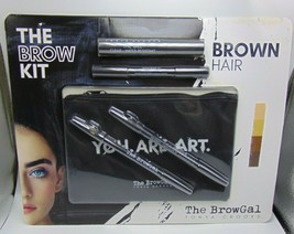 THE BROWGAL The Brow Kit Brown Shades NIB - $25.69