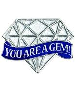 TCDesignerProducts You are A Gem Diamond Shaped Appreciation Award Lapel... - $34.51