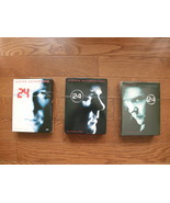 24 TV Series Complete Seasons 1 and 2 (pre-owned) Season 3 (new) DVDs - $34.99