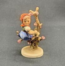 "Goebel Hummel Girl In Apple Tree 4.5"" Figurine, TMK3 1960-1963 - $30.96"
