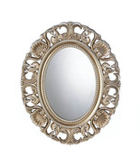 Wall Mirrors, Oval Ornate Small Bedroom Wall Mirror Set (gold) - $46.33