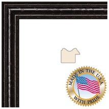 24x36 Black Stain on Red Leaf Maple Picture Frame - 1'' wide with .093 F... - $960,09 MXN