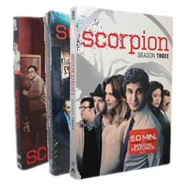 Scorpion The Complete Series Seasons 1-3 DVD Box Set 18 Dsic Frees Shipping