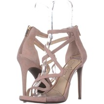 Jessica Simpson Roelyn Heeled Strappy Sandals 752, Nude Blush, 8.5 US - $34.55