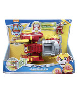 Paw Patrol Mighty Pups Super Paws Marshall's Powered Up Firetruck Nickel... - $16.83