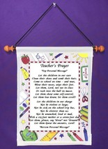 Teacher's Prayer - Personalized Wall Hanging (1001-1) - $18.99