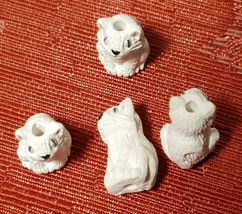 Small Ceramic Bead Choose from 69 Variations Animals, Birds, Reptiles and More!! image 11