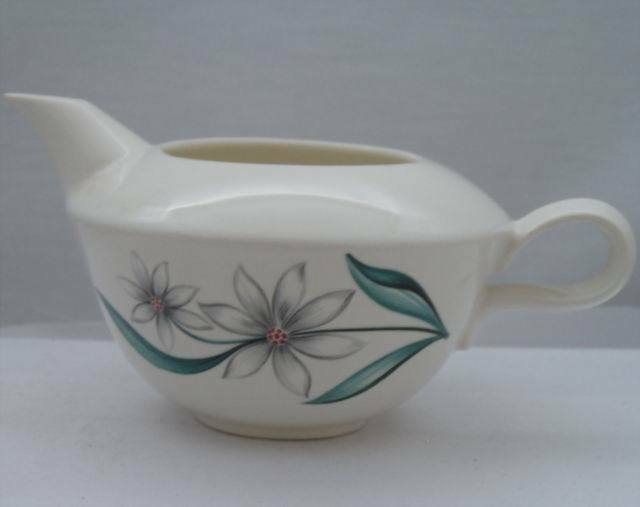 Homer Laughlin Floral Creamer