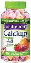 Vitafusion Calcium, Gummy Vitamins For Adults, 500 Mg, 100-Count - $14.61