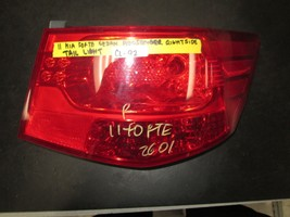 11 Kia Forte Sedan Passenger Right Side Tail Light - $23.76