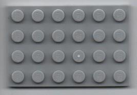 Two Light Gray LEGO 4x6 Plate - Basic Building Set.  - $1.49