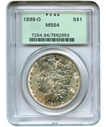 1898-O $1 PCGS MS64 (OGH) Old Green Label Holde... - $138.60