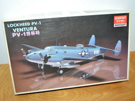 ACADEMY MINICRAFT LOCKHEED PV-1 VENTURA Model Kit Partially Built 1/72 C... - $10.69