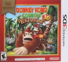 Donkey Kong Country Returns 3D - Nintendo Selects Nintendo 3DS, 2016 Fam... - $29.66