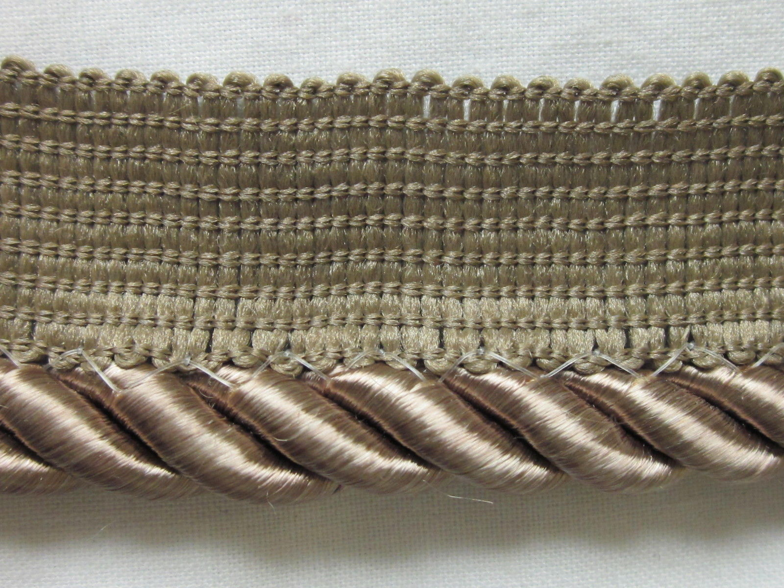 """Conso Upholstery 1//4/"""" Cord With Knitted Lip 24 yards"""
