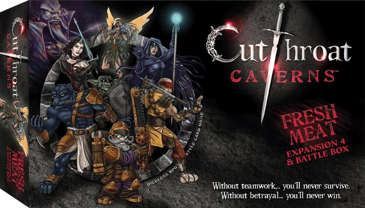 Smirk   dagger games cutthroat caverns fresh meat expansion 4   battle box