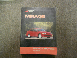 2000 Mitsubishi Mirage Service Repair Shop Manual Factory Vol 1 Oem Deal Book 00 - $45.11