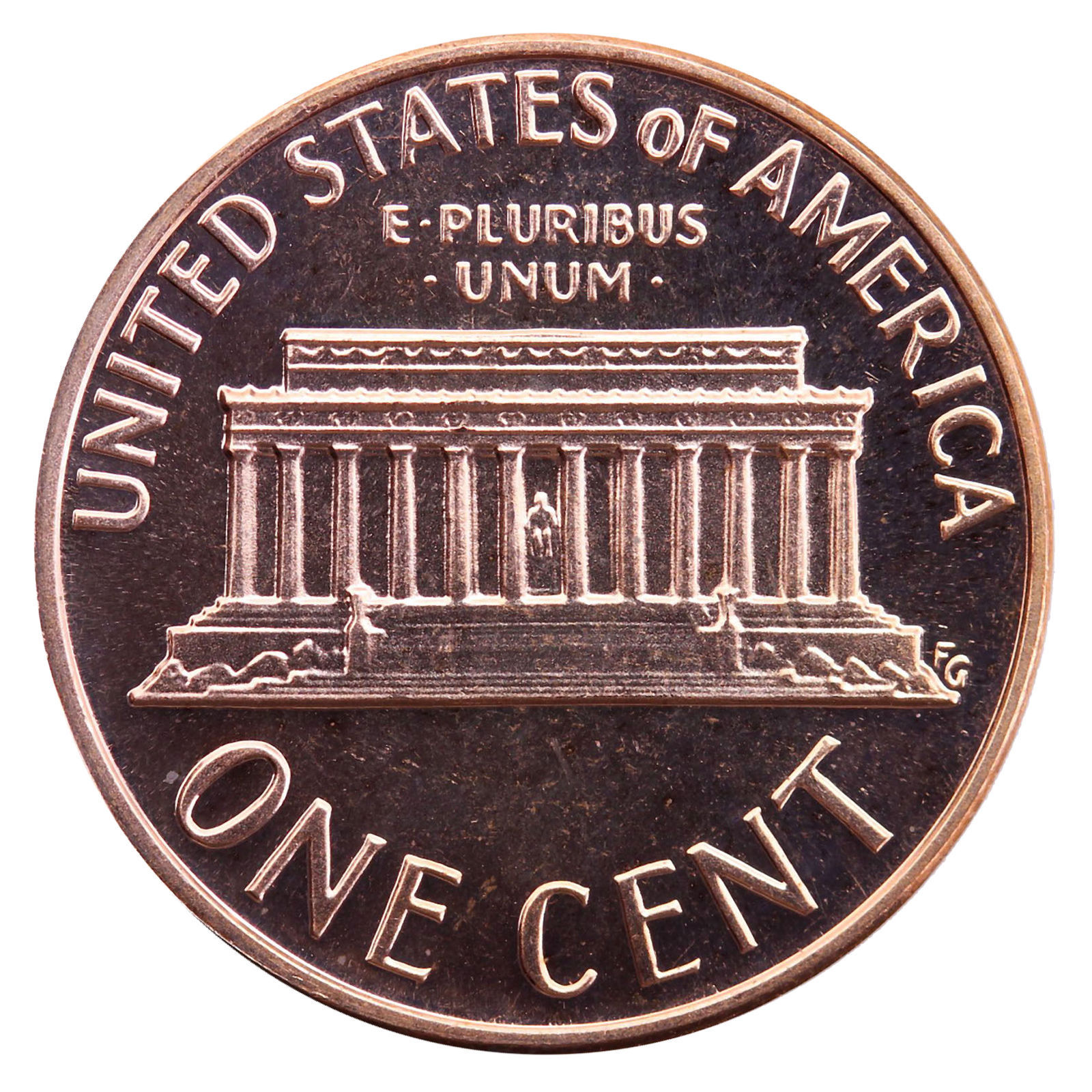2000-S Lincoln Memorial Cent Penny Gem Proof US Mint Coin Uncirculated UNC image 2