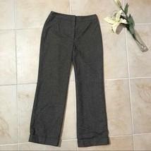 Ann Taylor Loft brown dress pants lined trousers womens size 10 #63 - $9.49