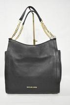 NWD Michael Kors Newbury Medium Chain Leather Shoulder Tote in Black - $169.00
