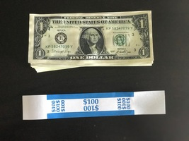 100 Prop Money Used Replica 1s All Full Print For Movie Video Films Etc. - $25.99