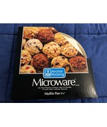 Vintage Anchor Hocking Microware MICROWAVE Cooking Muffin Cupcake Pan - $8.01