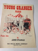 Vintage Sheet Music Young Granger March 1948 Piano Solo Great Vintage  Art - $29.45