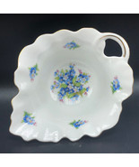 Bavaria Schumann Forget me Not Germany creamer bowl dish floral flowers ... - $27.72