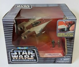 1995 Galoob MICRO MACHINES Star Wars Action Fleet (Red) A-WING Playset, ... - $30.00
