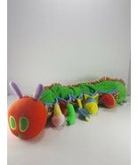 Very Hungry Caterpillar World Of Eric Carle Early Soft Plush Rattle Tags... - $19.79
