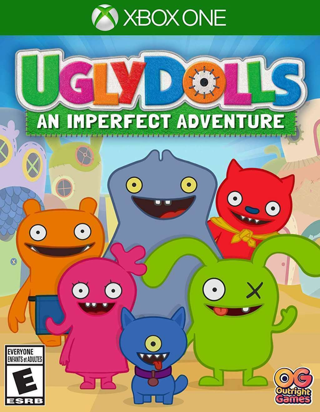 NEW SEALED Ugly Dolls: An Imperfect Adventure - Xbox One XB1 - Free Shipping