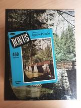 "Vintage 50s Whitman Bonus Interlocking Border Jigsaw Puzzle- #4651 ""Bridge"""