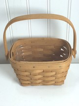 Vintage Longaberger Horizon of Hope Basket American Cancer Society Small... - $29.69