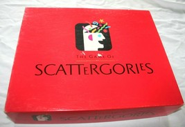 Vintage 1988 Hasbro The Game Of Scattergories Complete Good Conditio Mad... - $27.69