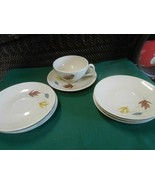 """Great Collectible FRANCISCAN """"Autumn Leaf""""  CUP & SAUCER & 6 Extra SAUCERS - $12.46"""