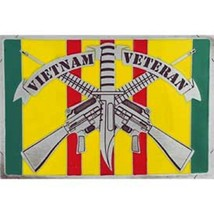 United States American Vietnam Veteran Rifles Belt Buckle - $18.76