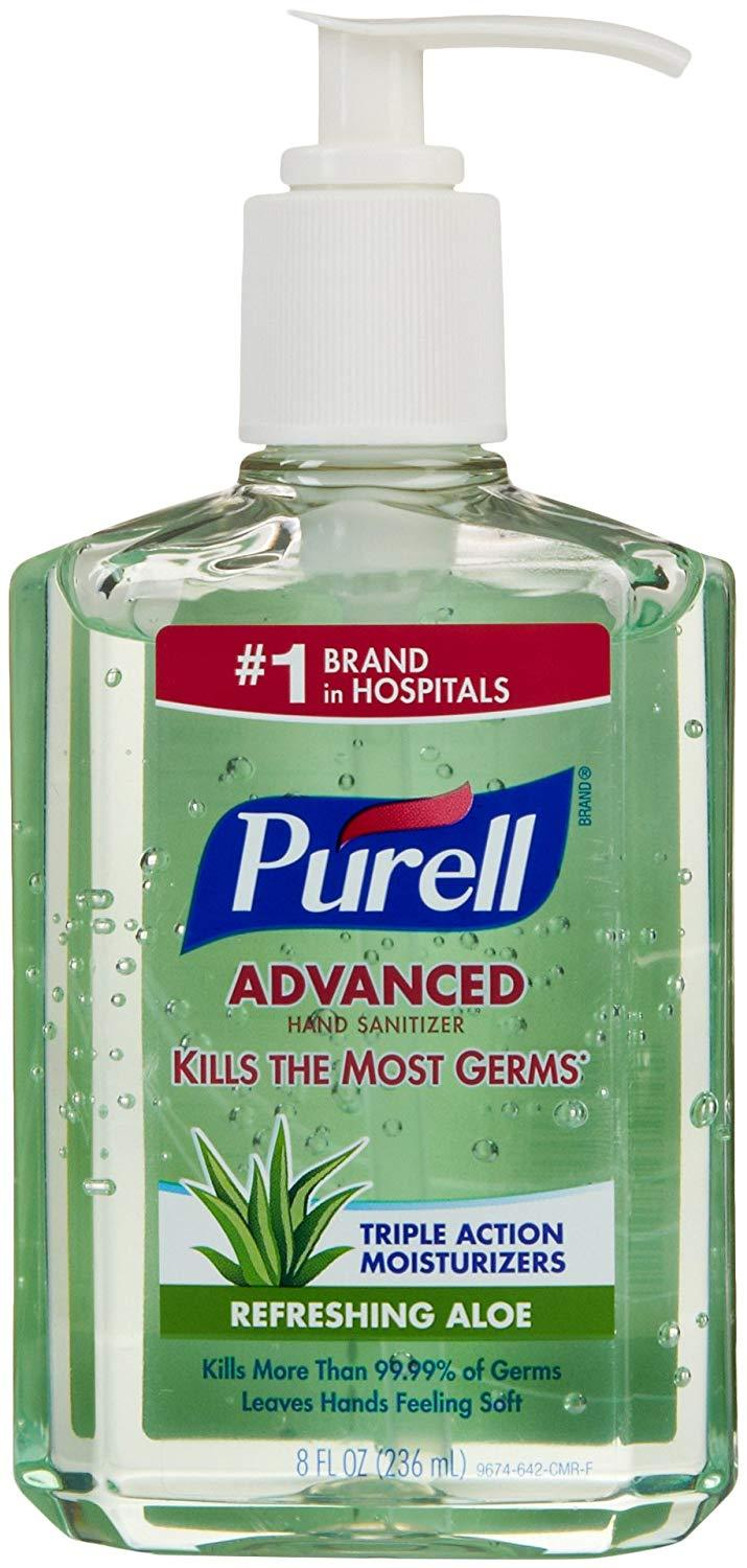 Primary image for Purell Advanced Hand Sanitizer Soothing Gel 8 oz