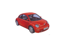 Tamiya 1/24 Volkswagen New Beetle Plastic Model Kit 24200 - $23.74