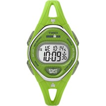 Timex IRONMAN® Sleek 50 Mid-Size Silicone Watch - Green - $63.79