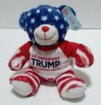 MAGA 45th Predsident Donald Trump Keep America Great Teddy Bear - $16.82