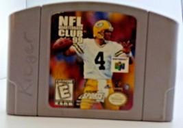 NFL Quarterback Club 99 N64 (Nintendo 64 1998) Authentic  Cartridge Only - $8.12