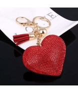 High Quality Romantic Heart Jewelry Keychain Women Key Holder Chain Ring Car lla - $20.00