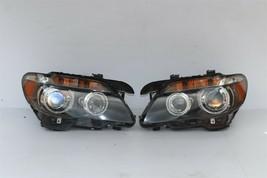 06-08 BMW E65 E66 750i 760i HID AFS Active Headlight Lamps Set L&R image 1