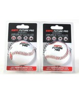 2 Count ESPN Learn How To Pitch LIke A Future Pro Finger Placement Baseball - $19.99