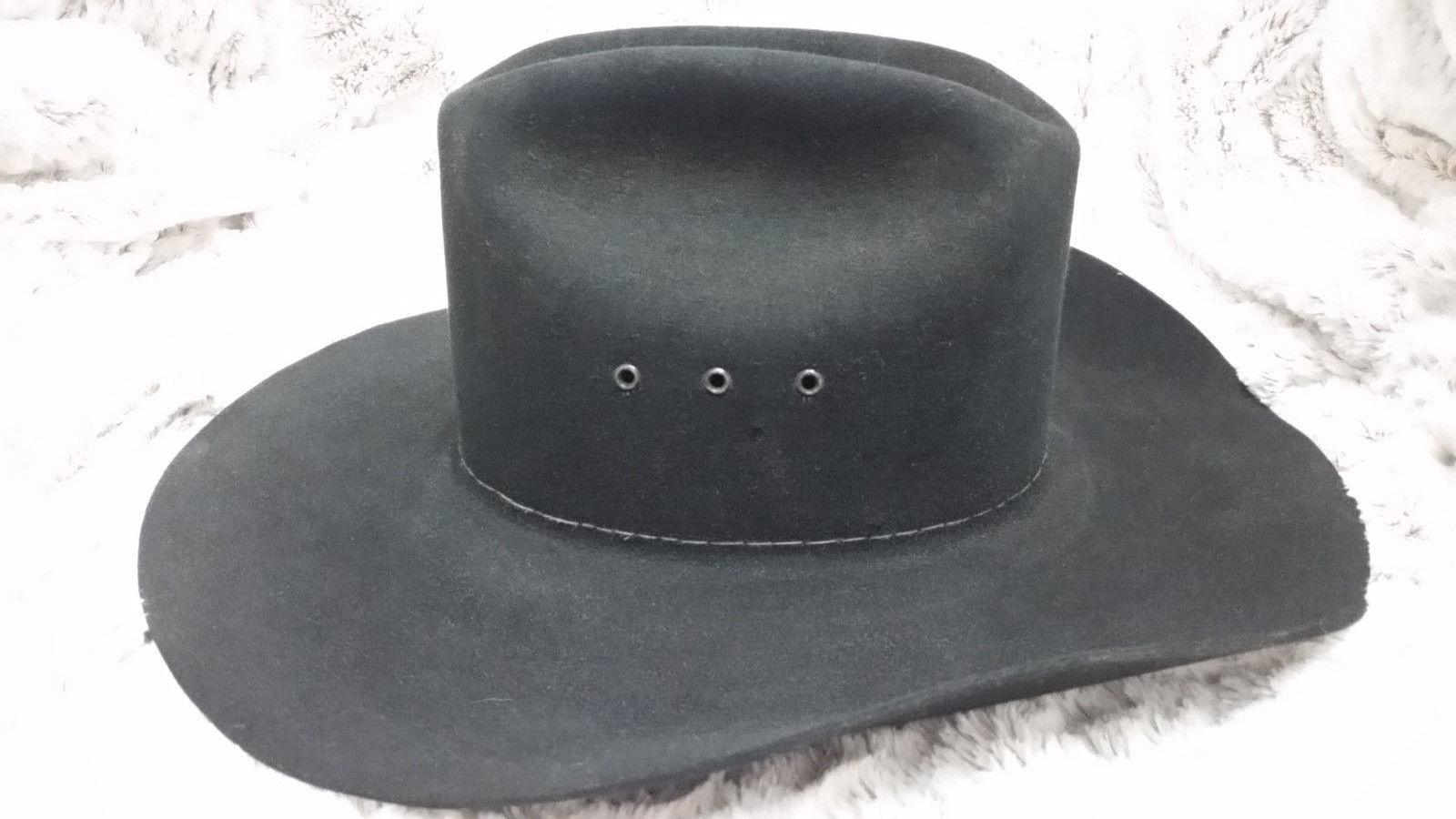 64ad5b99061fb Stetson Cowboy 4X Beaver Felt black K Quill and 11 similar items. S l1600
